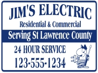 Tradesman 04-Jims Electric Yard Sign Template