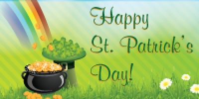 St. Patrick's Day Custom Banner Template 01