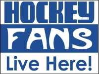 Hockey 04- Fans Yard Sign Design