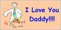 Father's Day Banner Layout 01