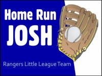 Baseball 03- Home Run Josh Yard Sign