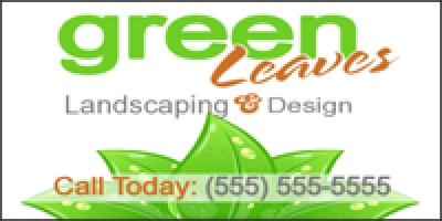 Landscaping 01 Banner Template