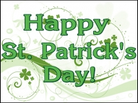 St. Patricks Day 4 Yard Sign Template