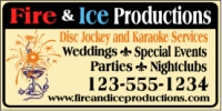 Music|Entertainment 06- DJ & Karaoke Service Banner