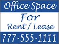 Office Space for Rent/Lease Panel Template