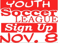 Soccer 04- Youth League Yard Sign