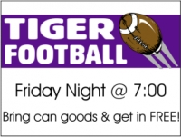 Football 01-  Friday Night Yard Sign
