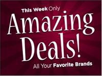 Business-01 Amazing Deals! Yard Sign