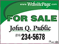 John Q Public For Sale Panel Design Template