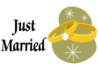 Wedding 05- Just Married Yard Sign