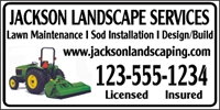 Landscaping 04 Banner Template