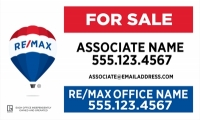 REMAX® Real Estate Horizontal 18h X 30w Standard Main Panel | Frame Included