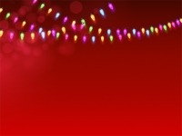Yard Sign Background 08-Christmas Lights