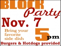 Other Events 07- Block Party Yard Sign Template
