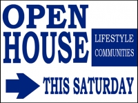 Other Events 01- Open House Yard Sign Design Template