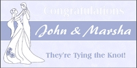Wedding Banner - John & Marsha