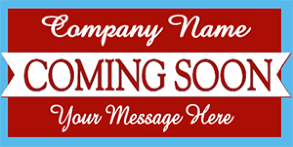Business Promotion 08- Coming Soon Banner Template