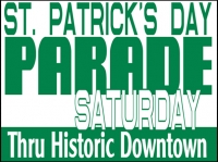 Other Events 02- St. Pattys Day Parade Yard Sign Template