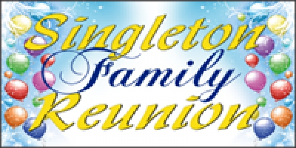 Reunion 04- Family Custom Banner Layout