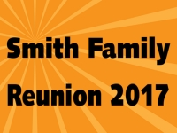 Reunion 06- Smith Family Yard Sign Template