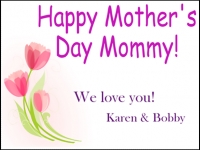 Mothers Day 3 Yard Sign Template