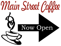 Catering/Food-08 Main Street Coffee Yard Sign