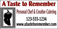 Catering/Food 01- Personal Chef Banner Template