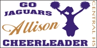Cheerleading-01 Individual Custom Banner Design