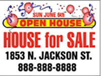 Open House For Sale Jackson Panel Template