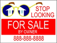 Stop Looking House For Sale Panel Template
