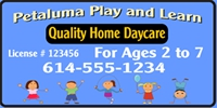 Daycare 03 Banner Template