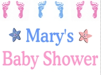 New Baby 05- Baby Shower Yard Sign