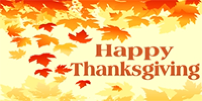 Thanksgiving 04 Banner Layout Leaves
