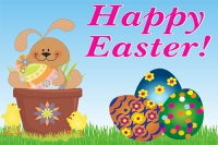 Easter 2 Yard Sign Template