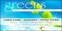 Landscaping 02 Banner Template