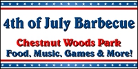 4th of July Barbecue Banner Template