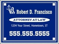 Financial-06 Attorney Yard Sign