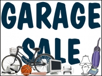 Garage/Yard Sale 6 Yard Sign Template
