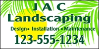 Landscaping 08 Banner Template