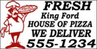 Catering/Food 08 Fresh Pizza Banner Template