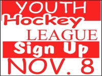 Hockey 03- Youth League Yard Sign