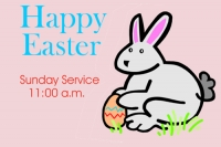 Easter 1 Yard Sign Template