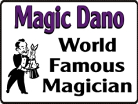 Music/Entertainment 10- Magic Dano Yard Sign Template