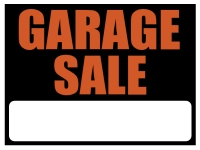 Garage/Yard Sale 7 Yard Sign Template