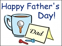 Fathers Day 1 Yard Sign Template
