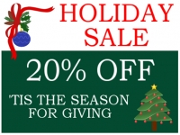 Christmas Holiday Sale Yard Sign