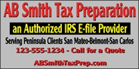 Financial Business 01- Tax Prep Service Banner Template