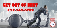 Financial Business 05 Debt Services Banner Template