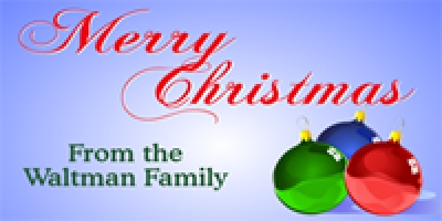 Christmas-03 Family Banner Template