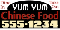 Catering/Food 05 Chinese Take Out Banner Template